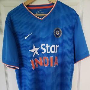 Nike Dri-Fit India Cricket 2016 Jersey sz XL